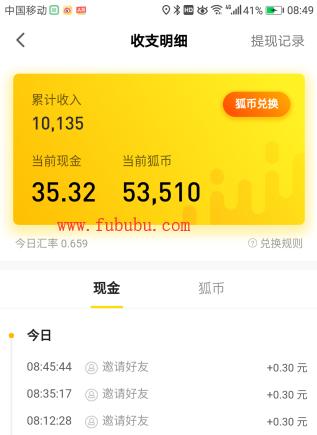 搜狐新闻资讯版累计提现超10000元,还获得一台苹果电脑